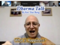 """Dharma Talk by Ven. Dae-Bong """"What is Happiness?"""""""